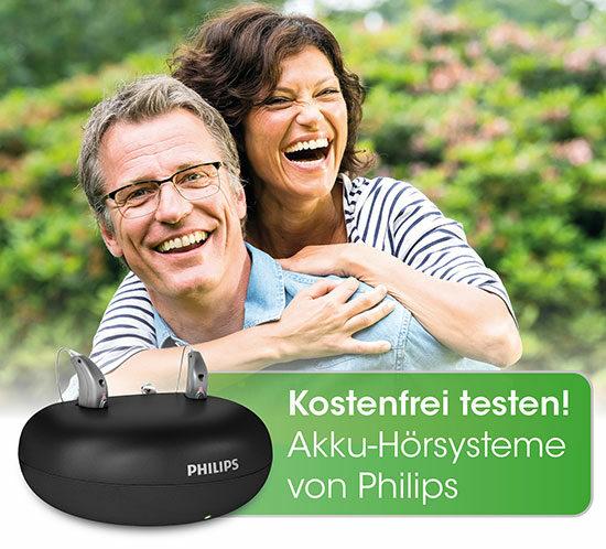 Hörsysteme von Philips mit Akku