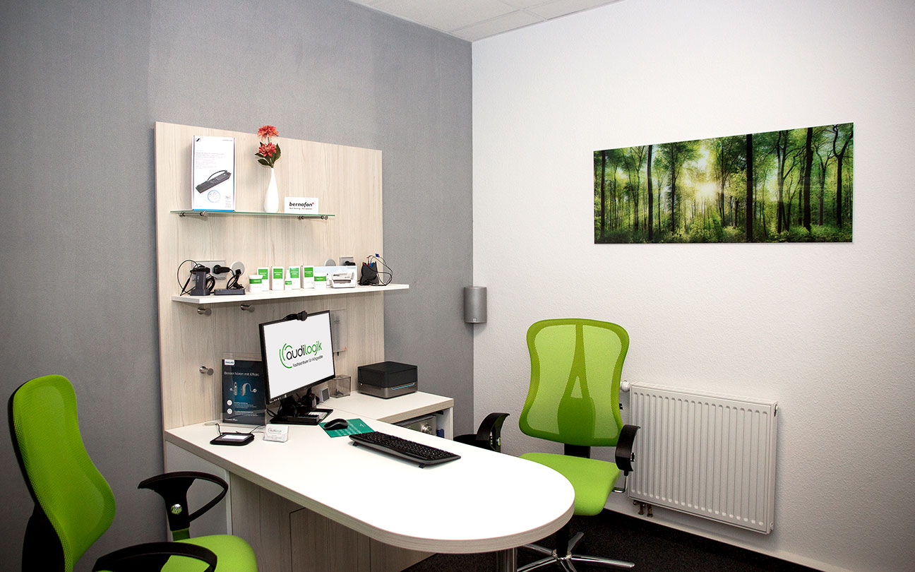 audilogik Fachzentrum in Hildburghausen Hörakustikkabine